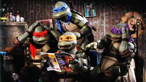 Tartarugas Ninjas dos anos 90